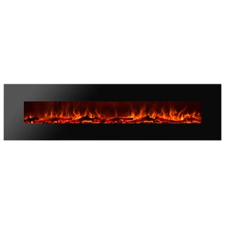 Ignis Royal 95 inch Electric Fireplace with Logs