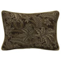 Bombay® Outdoors Palmetto Espresso Oversize Lumbar Pillow with Welt