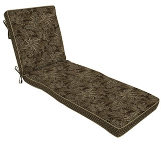 Bombay Outdoors Palmetto Espresso Chaise Lounge Cushion