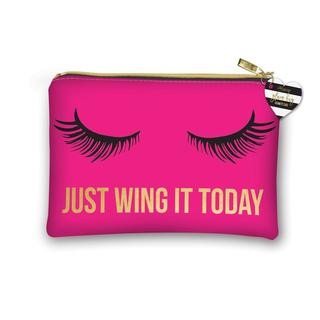 Lady Jayne Lashes Wing It Cosmetic Toiletry Bag