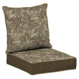 Bombay® Outdoors Palmetto Mocha Snap Dry Deep Seat Cushion Set