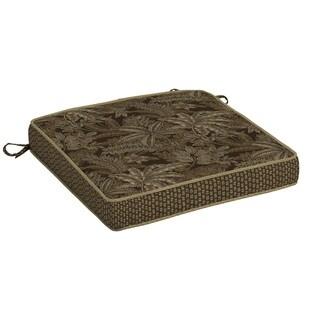 Bombay® Outdoors Palmetto Espresso Seat Cushion