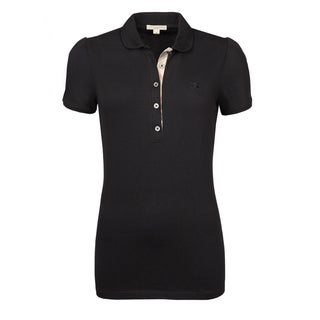 Burberry Women's Black Cotton Polo Shirt (5 options available)