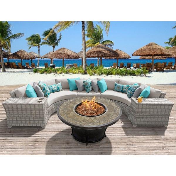 Superior Fairmont 6 Piece Outdoor Wicker Patio Furniture Set 06a