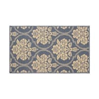 Laura Ashley Tatton in Chain Navy Accent Rug - 4' x 6'