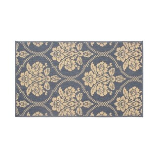 Laura Ashley Tatton in Chain Navy Accent Rug - (4 x 6 ft.)