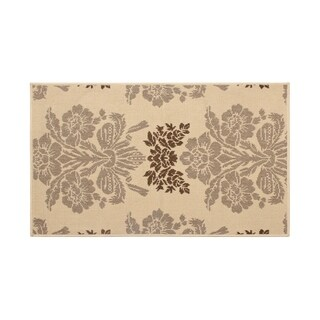 Laura Ashley Tatton Taupe Indoor/Outdoor Rug - (4 x 6 ft.)