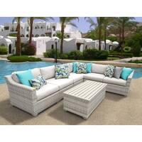 Fairmont 7 Piece Outdoor Wicker Patio Furniture Set 07b