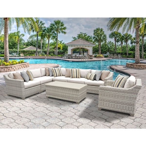 Fairmont Piece Outdoor Wicker Patio Furniture Set D Free - Wicker patio furniture sets