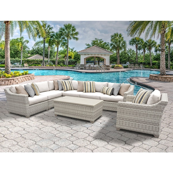 Outdoor Wicker Patio Furniture Set 08d