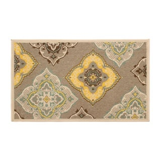 Laura Ashley Allie Taupe Indoor/Outdoor Accent Rug - 5 x 8 ft.