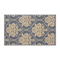 Laura Ashley Tatton in Chain Navy Accent Rug - (5 x 8 ft.)