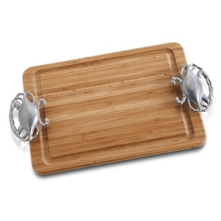 Wilton Armetale Crab Handle Carving Board