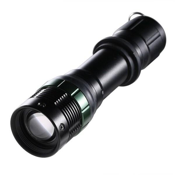 Skid-proof 3000Lumen Zoomable LED Flashlight Torch Zoom Light Adjustable