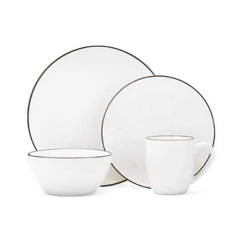 Mikasa Gourmet Basics Juliana Cream 16-piece Dinnerware Set