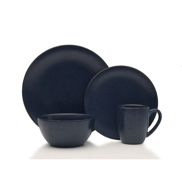 Mikasa Gourmet Basics Juliana Blue 16-piece Dinnerware Set