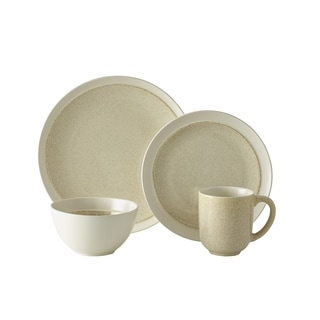 Mikasa Gourmet Basics Jocelyn Cream 16-piece Dinnerware Set (Service for 4)