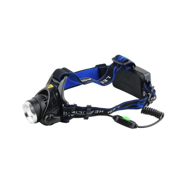 Aluminum 2000 Lumens XM-L T6 LED 18650 Zoomable Headlamp