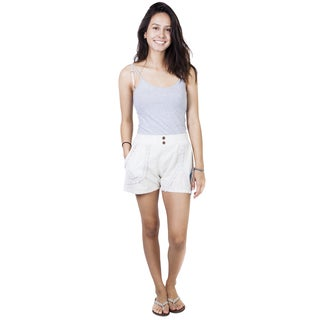 Handmade Women's Beach Basics Cotton Shorts (Nepal)