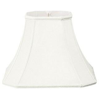 Royal Designs Square Cut Corner Designer Lamp Shade, White, 7 x 14 x 11
