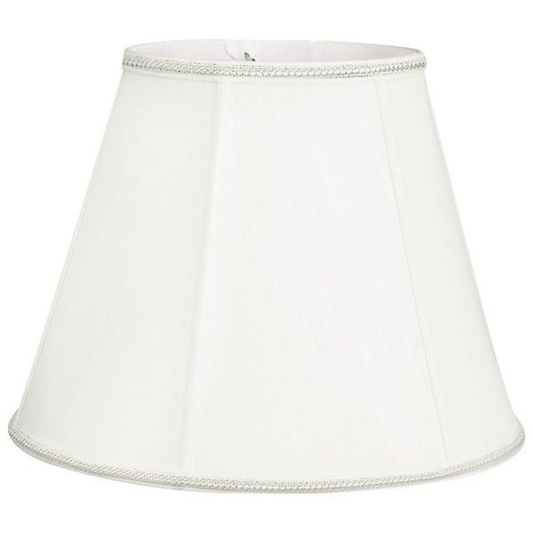 Royal Designs Empire Designer Lamp Shade, White, 6 x 12 x 9.5