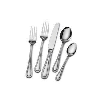 St. James Euro Bead 18/10 Stainless Steel 65-piece Flatware Set