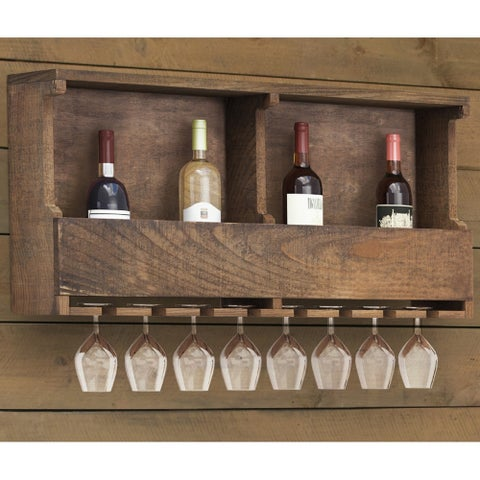 The Gray Barn Michaelis Reclaimed Wood Wine Rack