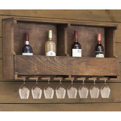 Carbon Loft Lawrence Reclaimed Wood Wine Rack