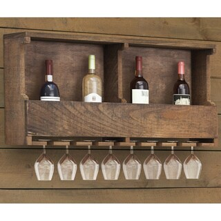 The Gray Barn Michaelis Reclaimed Wood Wine Rack
