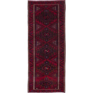 eCarpetGallery Red Wool Hand-knotted Rug (4'9 x 12'3)