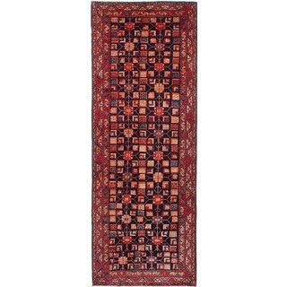 eCarpetGallery Sarab Blue Wool Hand-knotted Runner Rug (4'6 x 12'8)