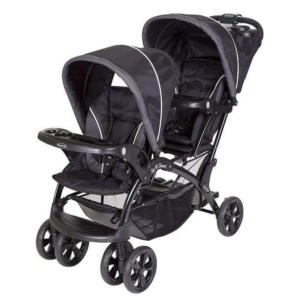 Baby Trend Sit N Stand Double Stroller Pistachio: Shop Baby Trend Sit N Stand Double Stroller, Onyx