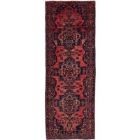 eCarpetGallery Persian Vintage Brown Wool Hand-knotted Rug (3'7 x 9'9)