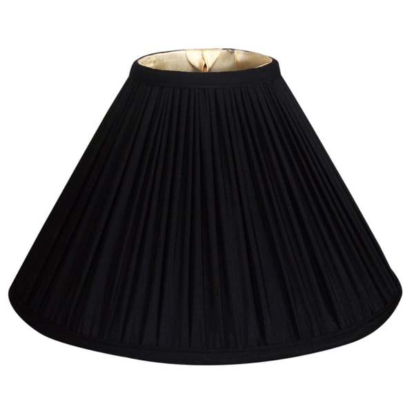 Royal designs coolie empire gather pleat basic lamp shade black 5 royal designs coolie empire gather pleat basic lamp shade black 5 x 14 x mozeypictures Choice Image