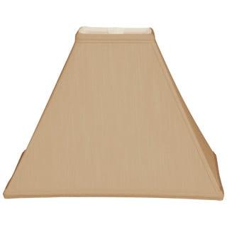 Royal Designs Square Sharp Corner Basic Lamp Shade, Antique Gold, 5 x 14 x 11.5