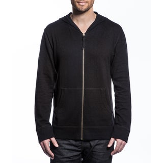 M.I.L.A Men's Cashmere Zip-Up Hoodie