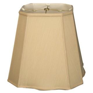 Royal Designs Beige Fancy Square-cut Corner Basic Lampshade
