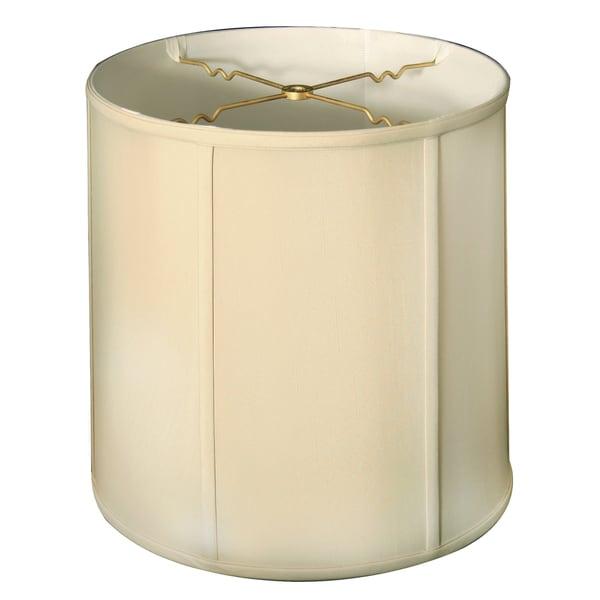 Royal Designs Basic Drum Lamp Shade, Beige, 15 x 16 x 16, BS-719-16BG