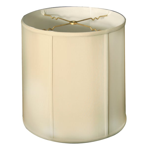 Royal Designs Basic Drum Lamp Shade, Beige, 14 x 15 x 15, BS-719-15BG
