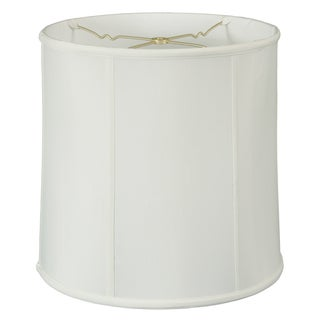 Royal Designs Basic Drum Lamp Shade, White, 13 x 14 x 14, BS-719-14WH