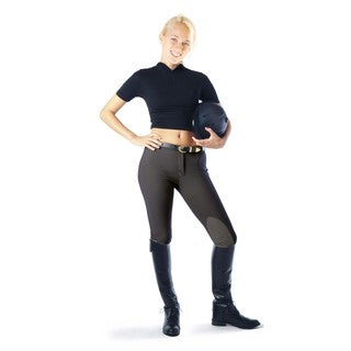 Devon-Aire Classic Cotton Black Hipster Riding Breech