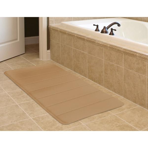 """Super-Soft Memory Foam Bath Mat (20"""" x 32"""")"""