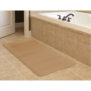 "Super-Soft Memory Foam Bath Mat (20"" x 32"")"