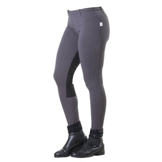 Devon-Aire Versailles Charcoal Full Seat Riding Tights