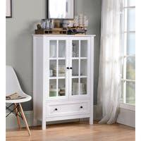 Miranda Cabinet  in White Paint Finish