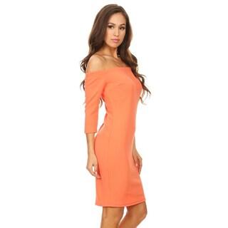 Women's Solid Color Bodycon Dress