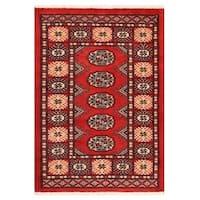 Handmade Herat Oriental Pakistani Bokhara Wool Rug (Pakistan) - 2'1 x 3'