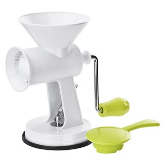 Hand Crank Manual Meat Grinder with Powerful Suction Base, Heavy Duty with Stainless Steel Blades
