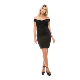 Sara Boo Luxe Wrap Dress