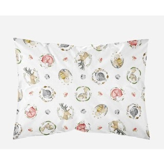 Oliver Gal Signature Collection 'Woodland Critters' Standard Sham